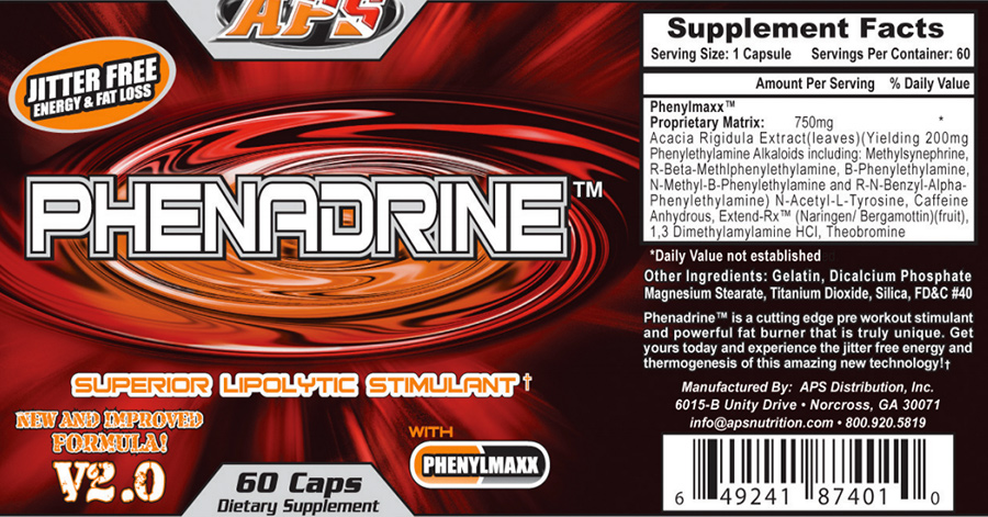 APS Phenadrine Review – All you need to know about Phenadrine