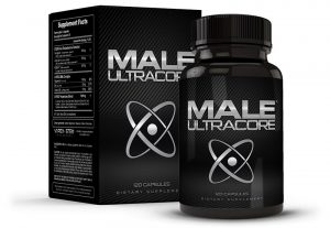 Box and Bottle Male UltraCore Pills