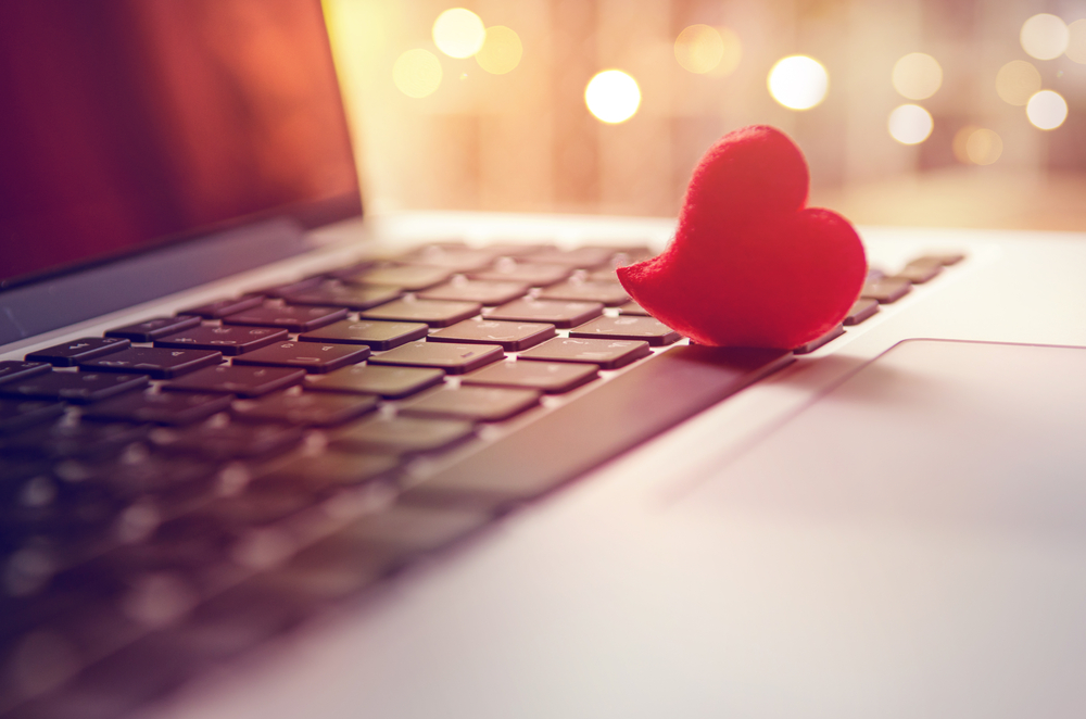Laptop With Heart