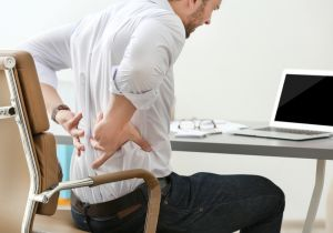 lower back pain while working on desk