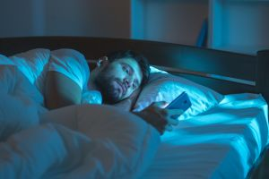 insomnia and phone use