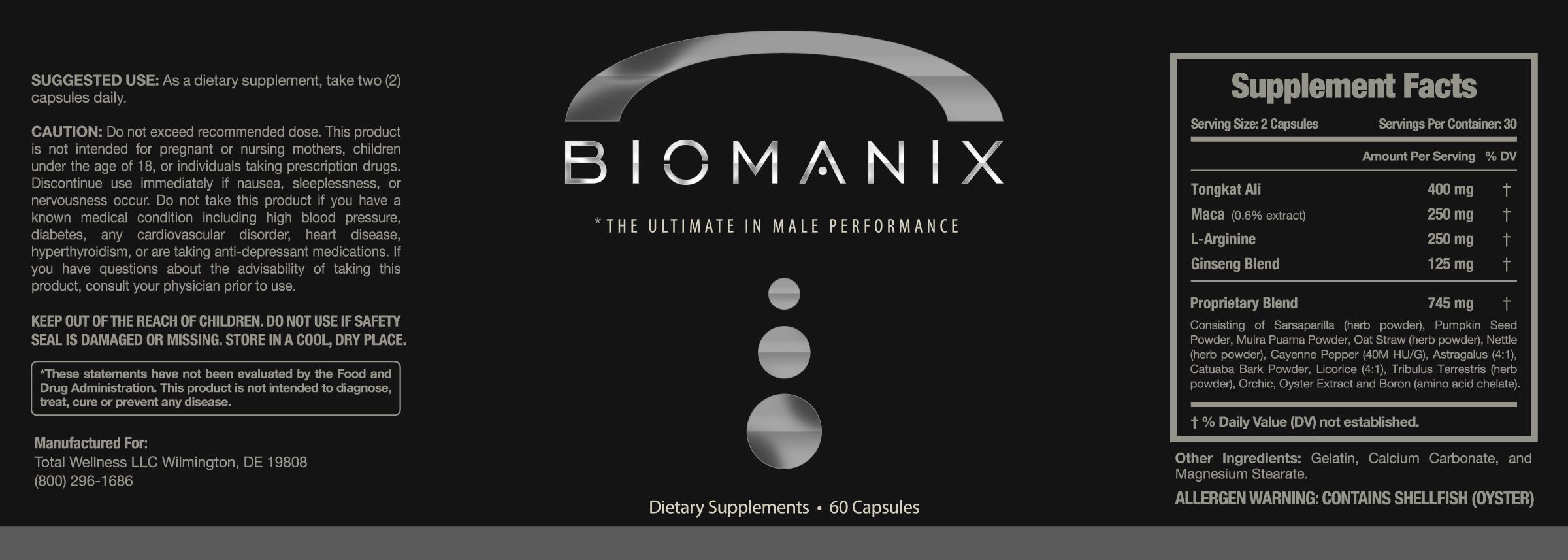 Biomanix Review Ingredients Breakdown – #1 MALE PERFORMANCE PRODUCT
